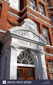 carlyle mansions victorian mansion block or flats and apartments