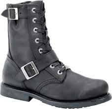 black leather moto boots harley davidson boot