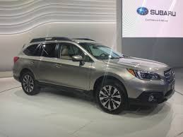 wrecked subaru outback the 2015 subaru outback debuts at the new york auto show the