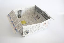 How To Fold A4 Paper Into An Envelope A4 Paper Newspaper 100 Origami Instructions U2013 Origami Japan