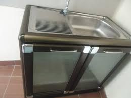 metal kitchen cabinets for sale kitchen sinks metal kitchen sink cabinet unit silver rectangle