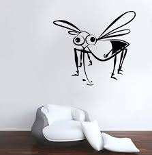wall decals stickers home decor home furniture diy mosquitoe wall decal fun art car decor vinyl sticker windows pest control