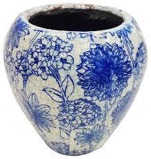 old world ceramic garden pot short rustic outdoor pots and