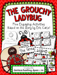 telling time with the grouchy ladybug free telling time