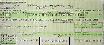 airline ticket the full wiki
