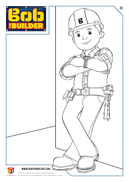 bob builder coloring pages free