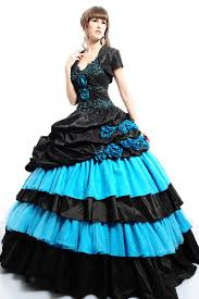 strapless flat beading appliques tiered ball gown prom dresses