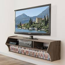 wall mount tv stand with shelf martin furniture ascend wall mounted tv shelf hayneedle