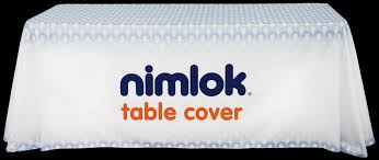 6ft Imprinted Table Cover Custom Trade Show Table Cover Buyers Guide
