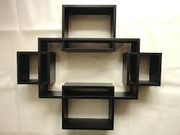 living room wall shelves decorating ideas one piece set five
