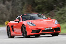 red porsche boxster 2017 porsche boxster review
