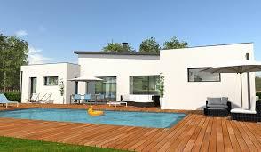 plan maison contemporaine plain pied 3 chambres plan maison plain pied 3 chambres 5 maison contemporaine de plain