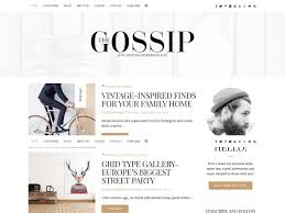 Lifestyle Blog Design Theme Collections Archives Mystery Themes