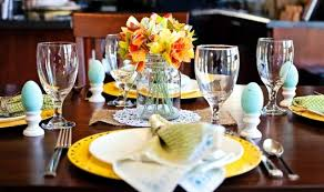 Easter Decorating Ideas For Restaurants by 20 Ideas For Table Decoration U2013 Easter Mood With Spring Flowers
