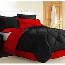White And Red Comforter Red And Black Queen Comforter Set Home Website