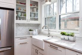 white kitchen cabinets with farm sink tips for maintaining your white kitchen and bathroom jm