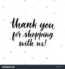 thanksgiving email message thank you shopping us ink hand stock vector 302643371 shutterstock
