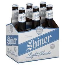 shiner light blonde carbs shiner light blonde 6 pk bottles shop craft beer at heb