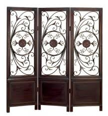 Wrought Iron Room Divider by Carved Room Divider Foter
