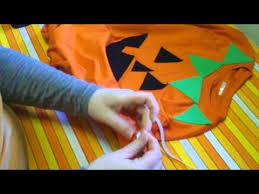 Sew Can Do Make A Cuddly Cute Pumpkin Costume Without A Pattern by Last Minute Halloween Costume No Sew Pumpkin Youtube