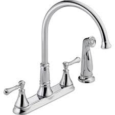 lowes kitchen faucets delta moen single handle kitchen faucet with