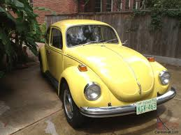 vw volkswagen beetle 1972 vw volkswagen super beetle unrestored survivor