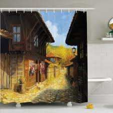 fall shower curtains wayfair