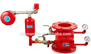 fire alarm check valve and fire pump controller sensing line