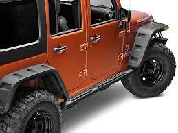 jeep wrangler side steps for sale mopar wrangler tubular side steps black 82210562af 07 17