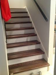 Pictures Of Wood Stairs | from carpet to wood stairs redo cheater version hometalk
