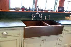 copper apron front sink double bowl copper apron front sink kitchen ideas pinterest