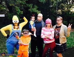 Despicable Halloween Costumes Toddler Despicable Family Halloween Costume