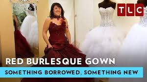 burlesque wedding dresses burlesque gown something borrowed something