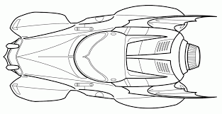 batman car coloring pages coloring home