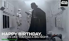 Star Wars Birthday Meme - card invitation sles star wars birthday ecard looks like you