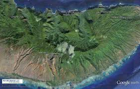 Molokai Map Molokai Waterfalls There Is Something About Falling Water That