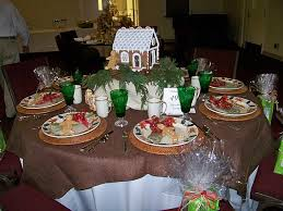 gems for table decorations gingerbread house table centerpiece from fbc in douglas ga