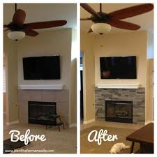diy friday fireplace makover just in time for winter home