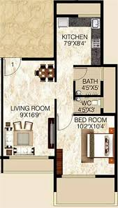650 Square Feet Floor Plan 750 Sq Ft 1 Bhk 2t Apartment For Sale In Lakhani Builders Skyways