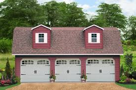 4 car garages with attic space