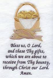 simple thanksgiving prayer before meal festival collections
