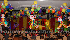 circus balloon circus balloon decoration party favors ideas