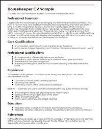download housekeeping resume sample haadyaooverbayresort com