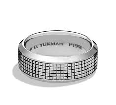 wedding bands for him band platinum wedding ring david yurman the jewellery editor