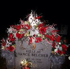 flowers for my christmas grave saddle for my angela s flowers
