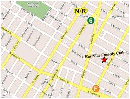Subway Map Directions by Eastville Comedy Club Contact Us Our Location Get Directions