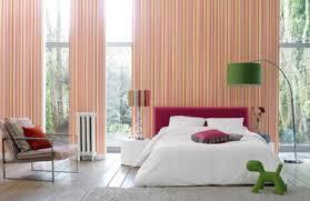 bedroom lovely stripes wallpaper bedrooms to dream pinterest