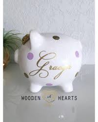 personalized baby piggy banks check out these bargains on personalized piggy bank