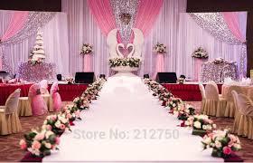 wedding backdrop design online shop big size combined type paillette fashion wedding