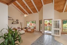 House With High Ceilings New Listing Clean Single Level Princeville House With Pool